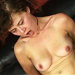 Emotionally Unstable Slut Tegan Gets Her Throat Abused By Two Big Dicks