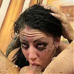 Brutal Skull Fucking Makes Teen Slut Molly Smash Puke