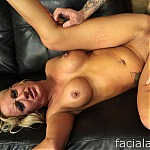 Busty Blonde Whore Zoey Portland Does Extreme Face Fucking Porn