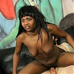 Rough and Messy Interracial Throat Fuck With Black Whore Charmaigne