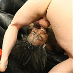 Jazzi Lai Dominated In Her Throat & Ass By Nasty White Boys