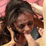 Petite Puerto Rican Slut Isabella Gonzalez Throat Fuck Porno