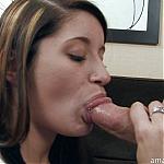 19 Year Old Amateur Slut Deepthroats Hard Cock