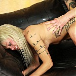 Sexy Blonde Amateur Ruby Octroi Does Her First Extreme Deepthroat