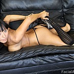 Big Tits Asian Babe In Brutal Throat Fuck Porn