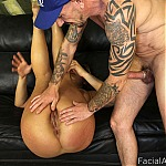 Blonde Italian Whore Deepthroat Fucked Hard