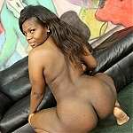 Ebony Hooker Madission Gets Her Throat Fucked By Two Nasty White Boys