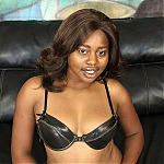 Sexy Black Slut Remy Blaze Gets Her Throat Pumped With White Dick