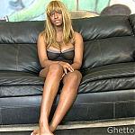 Big Tits Ebony Slut Gets Throat Fucked and Double Penetrated