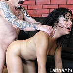 Brutal Latina Throat Fucking Makes Whore Cry