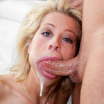 Hot Blonde Zoey Monroe Getting Her Throat Stuffed With A Thick Dick